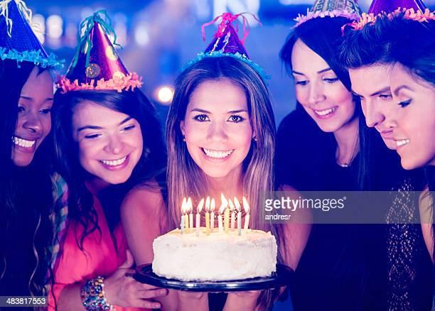 Chica de cumpleaños