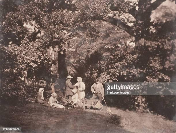 Birthday Group, 1856. Artist John Dillwyn Llewelyn.