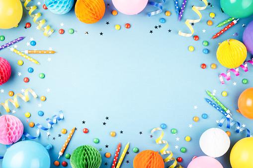 Birthday party background. 1081339062