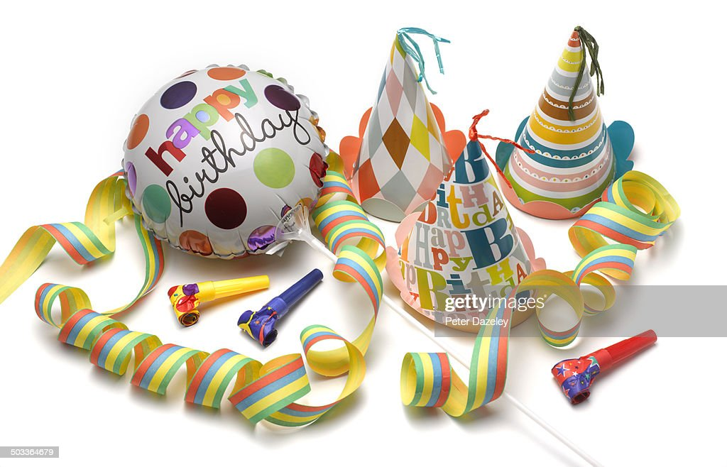 Birthday party fun : Stock Photo
