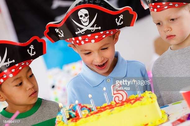 Birthday Party of a 5 Year Old Boy