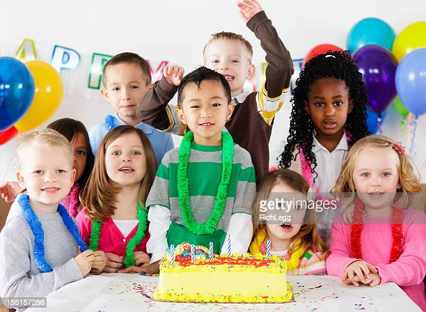 Birthday Party of a Little Boy