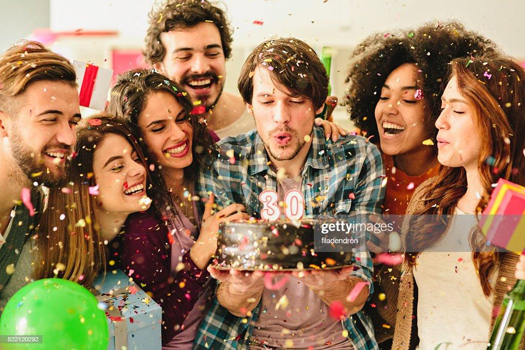 30 Birthday Party : Stock Photo