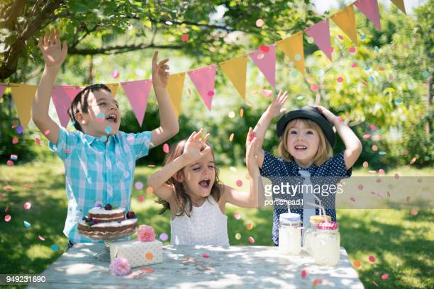 birthday party - happy birthday stock pictures, royalty-free photos & images