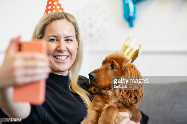 birthday selfie with mommy! - birthday stock pictures, royalty-free photos & images