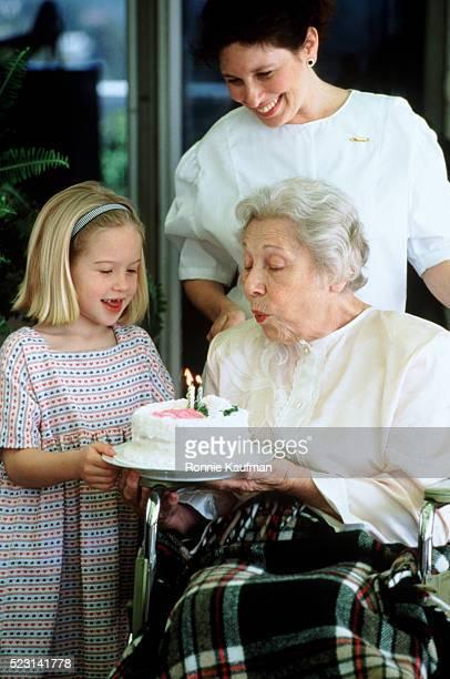 Birthday visit