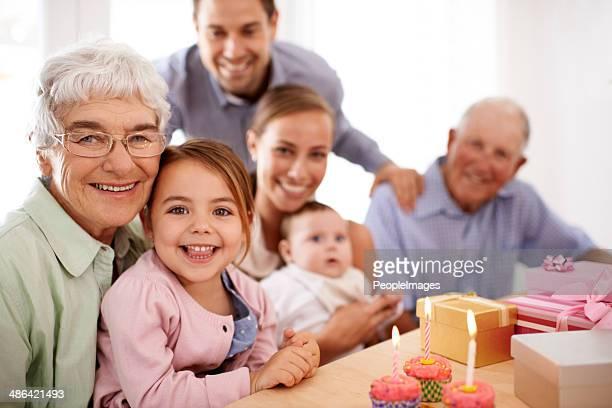Cumpleaños especiales de momentos familiares
