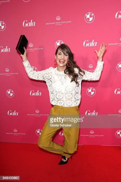 Birthe Wolter during the Gala Spa Awards at Brenners ParkHotel Spa on April 14 2018 in BadenBaden Germany