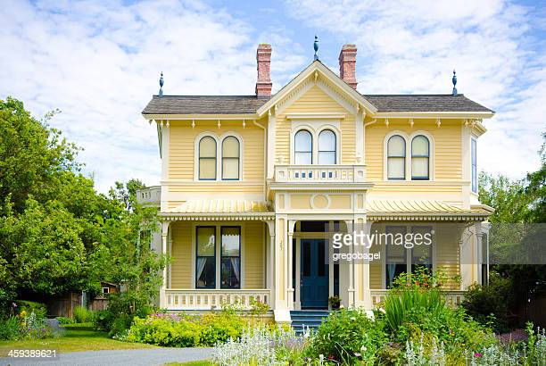 birthplace of emily carr in victoria, british columbia - victoria canada stock pictures, royalty-free photos & images