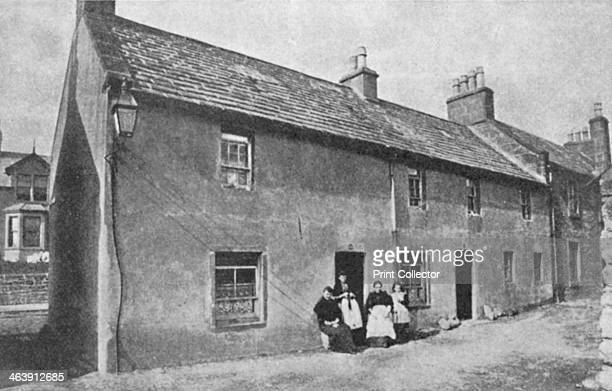Birthplace of JM Barrie Scottish playwright and novelist Kirriemuir Angus Scotland Peter Pan The Admirable Crichton and Quality Street are among...