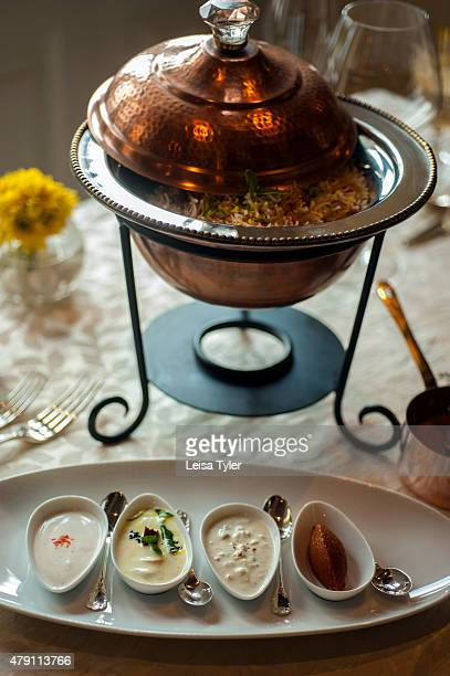 PALACE HYDERABAD TELANGANA INDIA Biryani at Falaknuma Palace in Hyderabad a rambling scorpion shaped mansion meaning mirror of the sky and fantasy of...