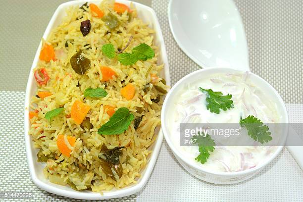 biryani - north indian food stock photos and pictures