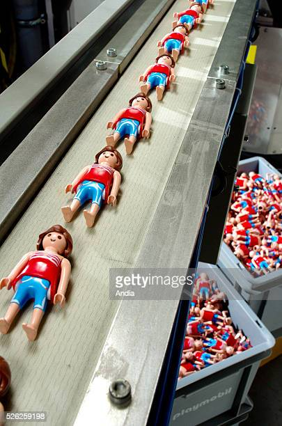 Playmobil figures factory which belongs to the German toy manufacturer Geobra The other Playmobil toys factories are located in Germany in the towns...