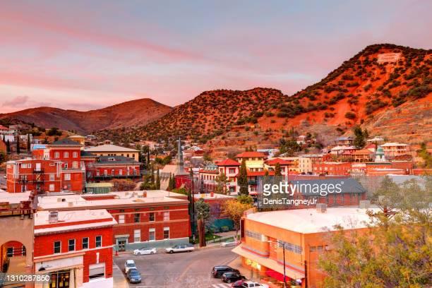 bisbee, arizona - arizona stock pictures, royalty-free photos & images