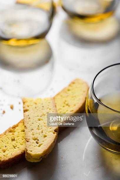 Biscotti and Vin Santo