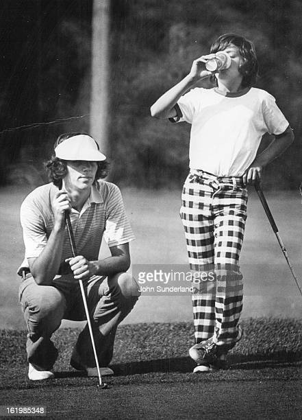 JUL 7 1976 MAY 20 1979 Bisdorf Larry Ind Golf Young Larry Bisdorf Learned to manage for himself