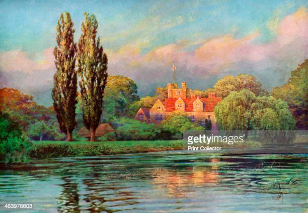 Bisham Abbey Berkshire 19241926 Founded in the 13th century as a Preceptory of the Knights Templar Bisham Abbey was later a Benedictine abbey The...
