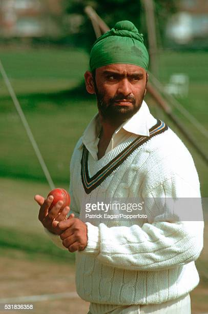Bishen Bedi of India at Lord's in 1974