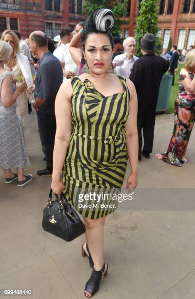 Bishi Bhattacharya attends the 2017 annual VA Summer Party in partnership with Harrods at the Victoria and Albert Museum on June 21 2017 in London...