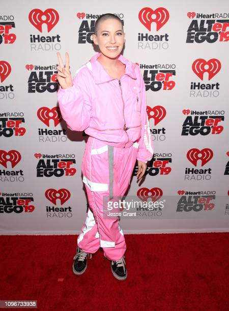 USE>> Bishop Briggs attends 2019 iHeartRadio ALTer Ego at The Forum on January 19 2019 in Inglewood California