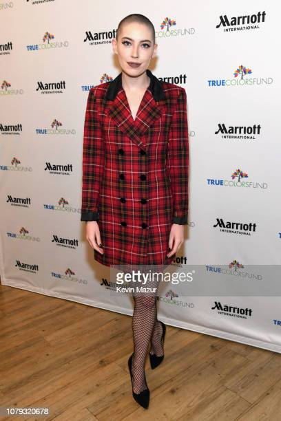 Bishop Briggs attends Cyndi Lauper's 8th Annual 'Home For The Holidays' Benefit Concert at Beacon Theatre on December 08 2018 in New York City