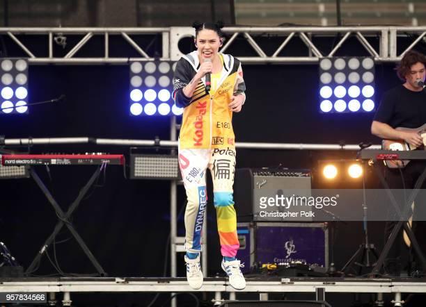 Bishop Briggs peforms onstage at KROQ Weenie Roast 2018 at StubHub Center on May 12 2018 in Carson California