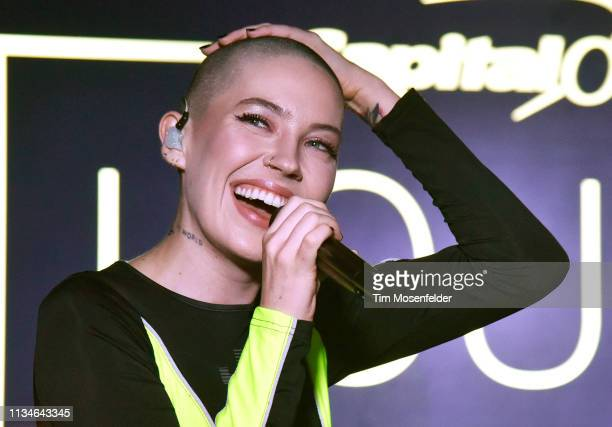 Bishop Briggs performs at Capital One's House Happening at Antone's during the 2019 SXSW Conference and Festival on March 08 2019 in Austin Texas