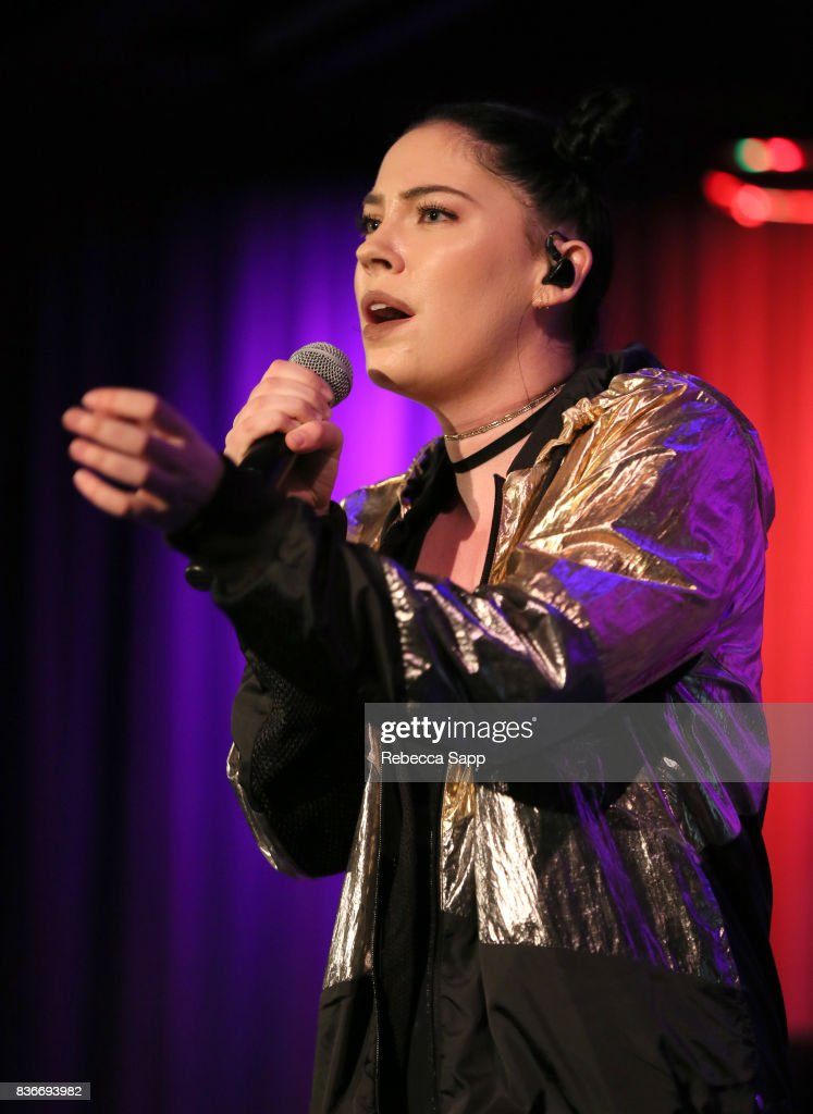 Bishop Briggs at The GRAMMY Museum on August 21, 2017 in Los Angeles, California.