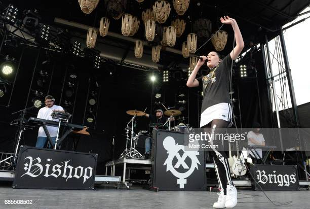 Bishop Briggs performs at the Fitz's Stage during 2017 Hangout Music Festival on May 19 2017 in Gulf Shores Alabama