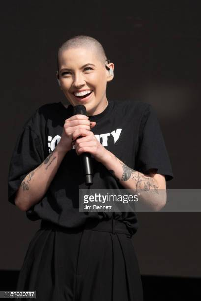 Bishop Briggs performs live on stage at Napa Valley Expo on May 26 2019 in Napa California