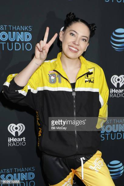 Bishop Briggs poses at the ATT Thanks Sound Studio May 18 2018 in Bala Cynwyd Pennsylvania