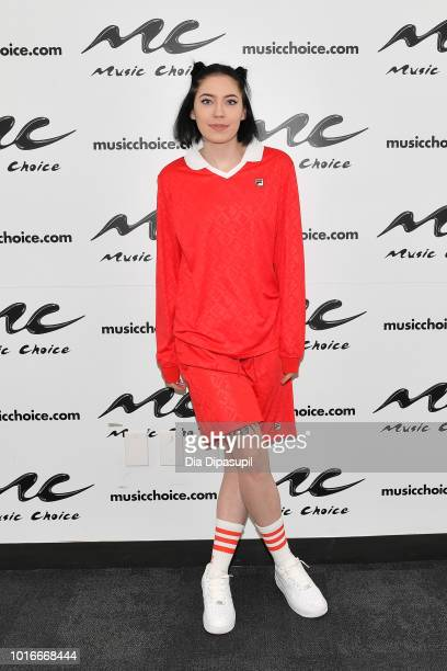 Bishop Briggs visits Music Choice on August 14 2018 in New York City