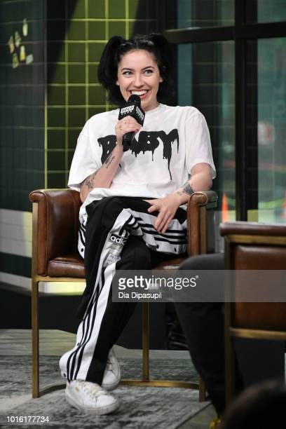 Bishop Briggs visits the Build Series to discuss Church of Scars at Build Studio on August 13 2018 in New York City