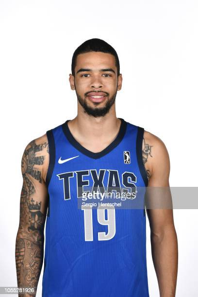 Bishop Daniels of the Texas Legends poses for a head shot during the NBA GLeague media day at Dr Pepper Arena in Frisco Texas NOTE TO USER User...