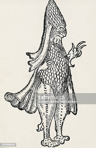 Bishop Fish by Ambroise Pare France 16th century