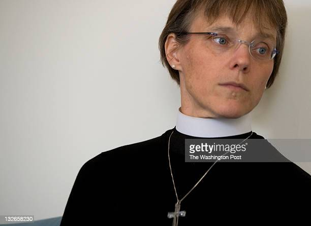 Bishop Mariann Budde is photographed during an interview in Washington DC on Tuesday November 8 2011 Budde will be consecrated on Saturday as Diocese...