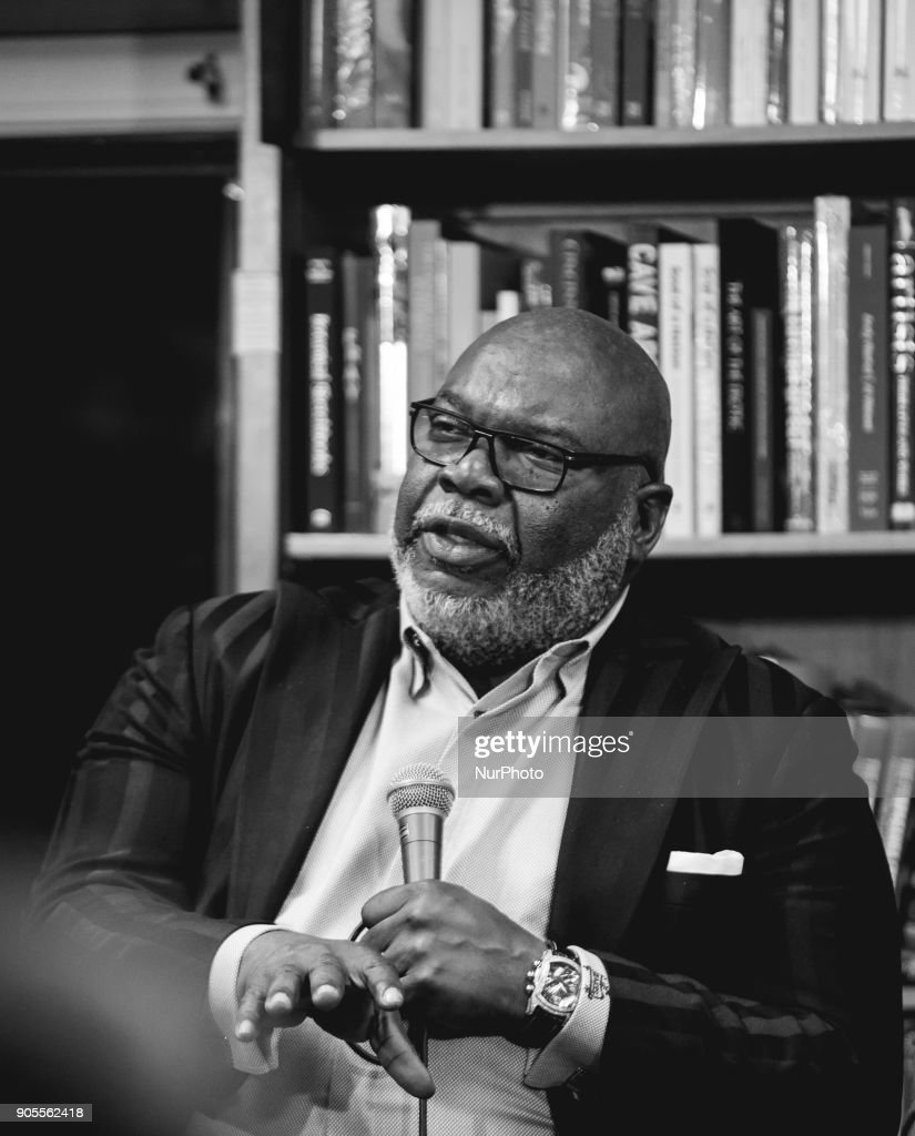 Bishop T D  Jakes, senior pastor of The Potters House, a global