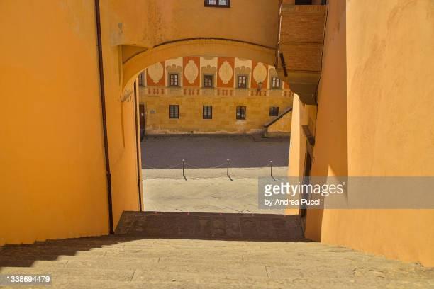 bishop's sanctuary, san miniato , tuscany, italy - san miniato stock pictures, royalty-free photos & images