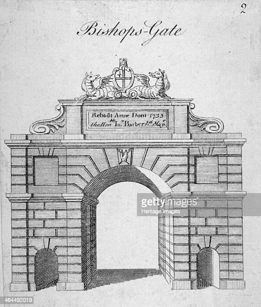 Bishopsgate City of London 1735
