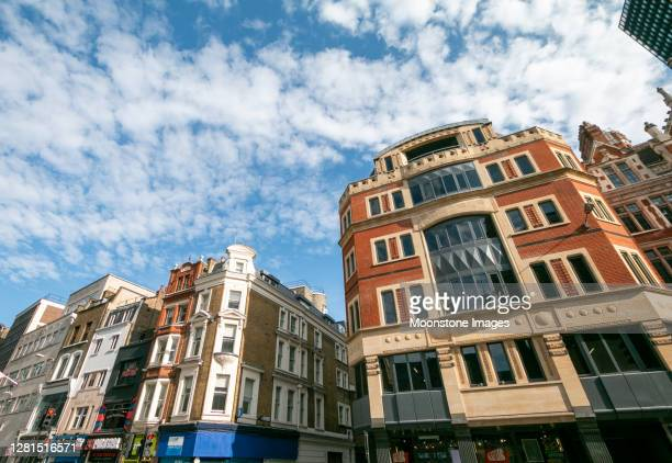 166-170 bishopsgate in london, england - east london stock pictures, royalty-free photos & images