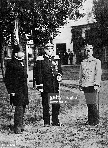 Bismarck Otto von *18151898Politician Germany1862 1890 Minister President of Prussia1871 1890 Reich ChancellorMeeting of the Three Emperors' League...