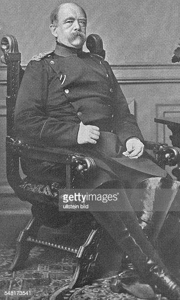 Bismarck Otto von Chancellor of German Empire Politician D *0104181530061898 18621890 prime minister of Prussia 18711890 German Imperial Chancellor...