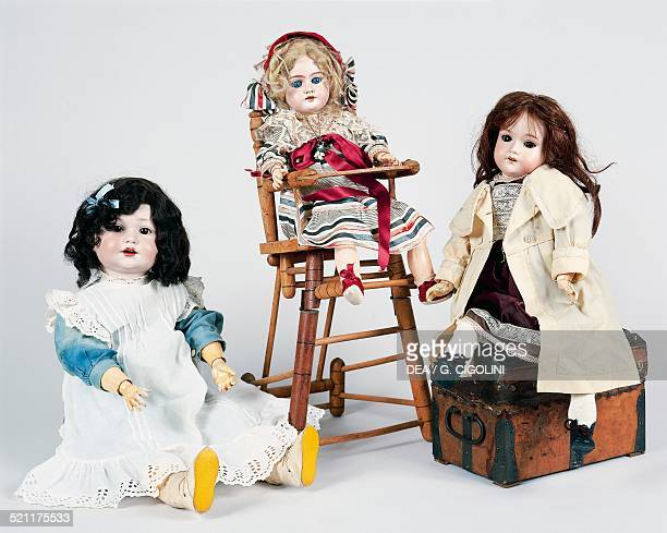 Bisque dolls made by Armand Marseille ca 1930 Germany 20th century Germany