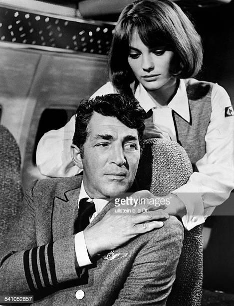 Bisset Jacqueline *Schauspielerin GB mit Dean Martin in der Verfilmungvon Arthur Haileys 'Airport' 1970