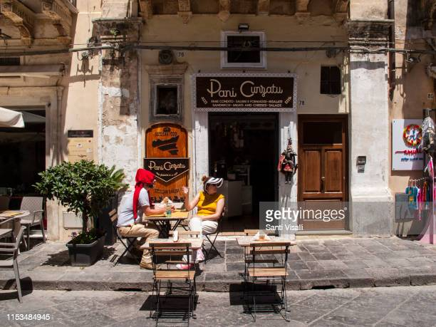 Bistro on May 10 2019 in Noto Sicily