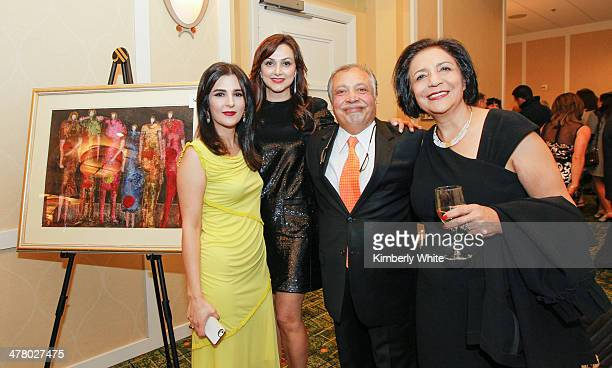 Bita Daryabari and guests attend the PARS Equality Center 4th Annual Nowruz Gala at Marriott Waterfront Burlingame Hotel on March 8 2014 in...
