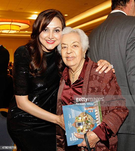 Bita Daryabari and Mrs Moghadam attend the PARS Equality Center 4th Annual Nowruz Gala at Marriott Waterfront Burlingame Hotel on March 8 2014 in...