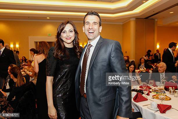 Bita Daryabari and San Jose Council member Sam Liccardo attend the PARS Equality Center 4th Annual Nowruz Gala at Marriott Waterfront Burlingame...