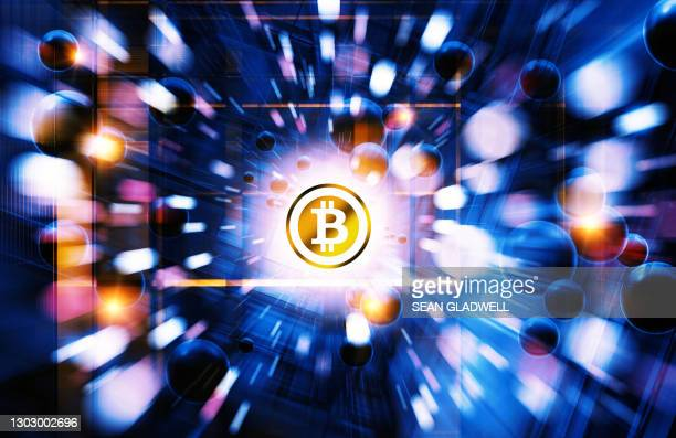 bitcoin abstract - bank stock pictures, royalty-free photos & images