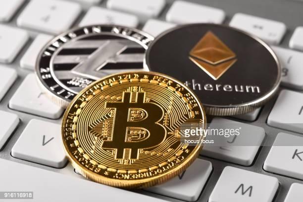 Bitcoin Litecoin and Ethereum